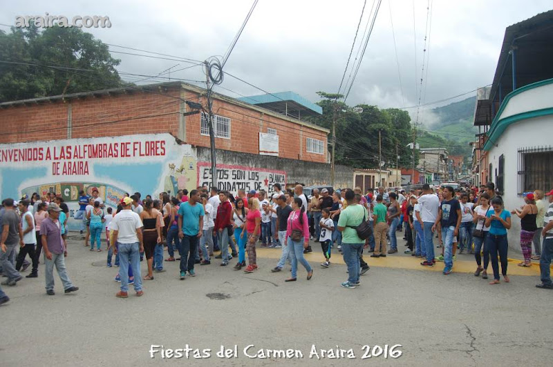 Parranda del Carmen, Araira 2016