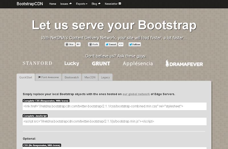 BootstrapCDN