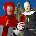 Nun and Monk Neighbor Escape 3D icon
