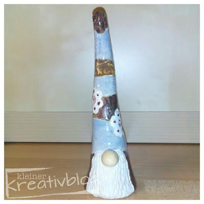 kleiner-kreativblog: Garten-Wichtel aus Keramik