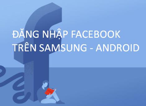 Hướng dẫn đăng nhập Facebook
