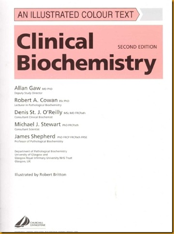 Clinical biochemistry- An illustrated color text