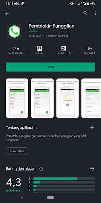 5 Daftar Aplikasi Pemblokir panggilan dan sms di smartphone