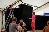 Atelier théâtre avec les comédiens de la compagnie  « L'Atelier du Vague à l'âme »