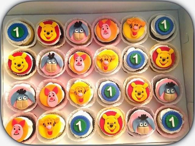 Angel Wing Cakes Winnie The Pooh 1st Birthday