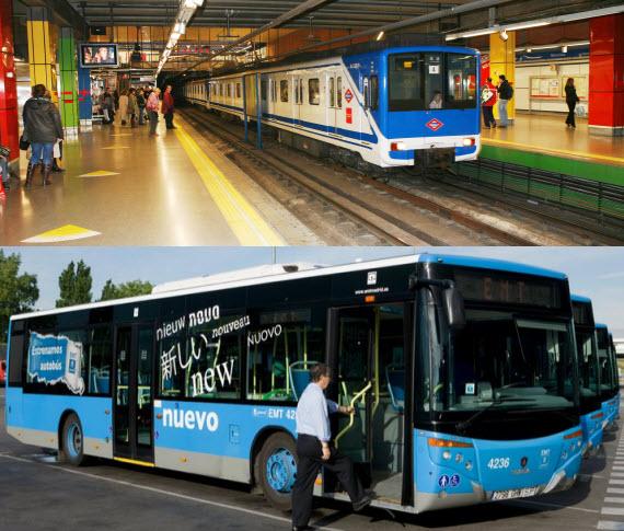 Te ayudamos a planificar tu desplazamiento en transporte público
