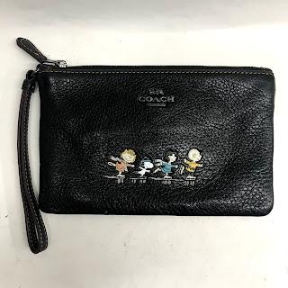 Coach Peanuts Wristlet Bag
