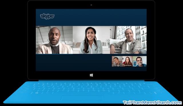 Chat, gọi điện, gọi thoại video miễn phí với Skype