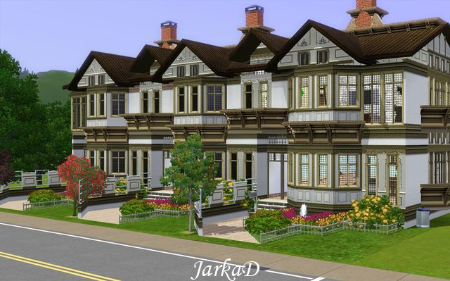 My sims 3 blog apartment building 6 by jarkad for Appartement design sims 3