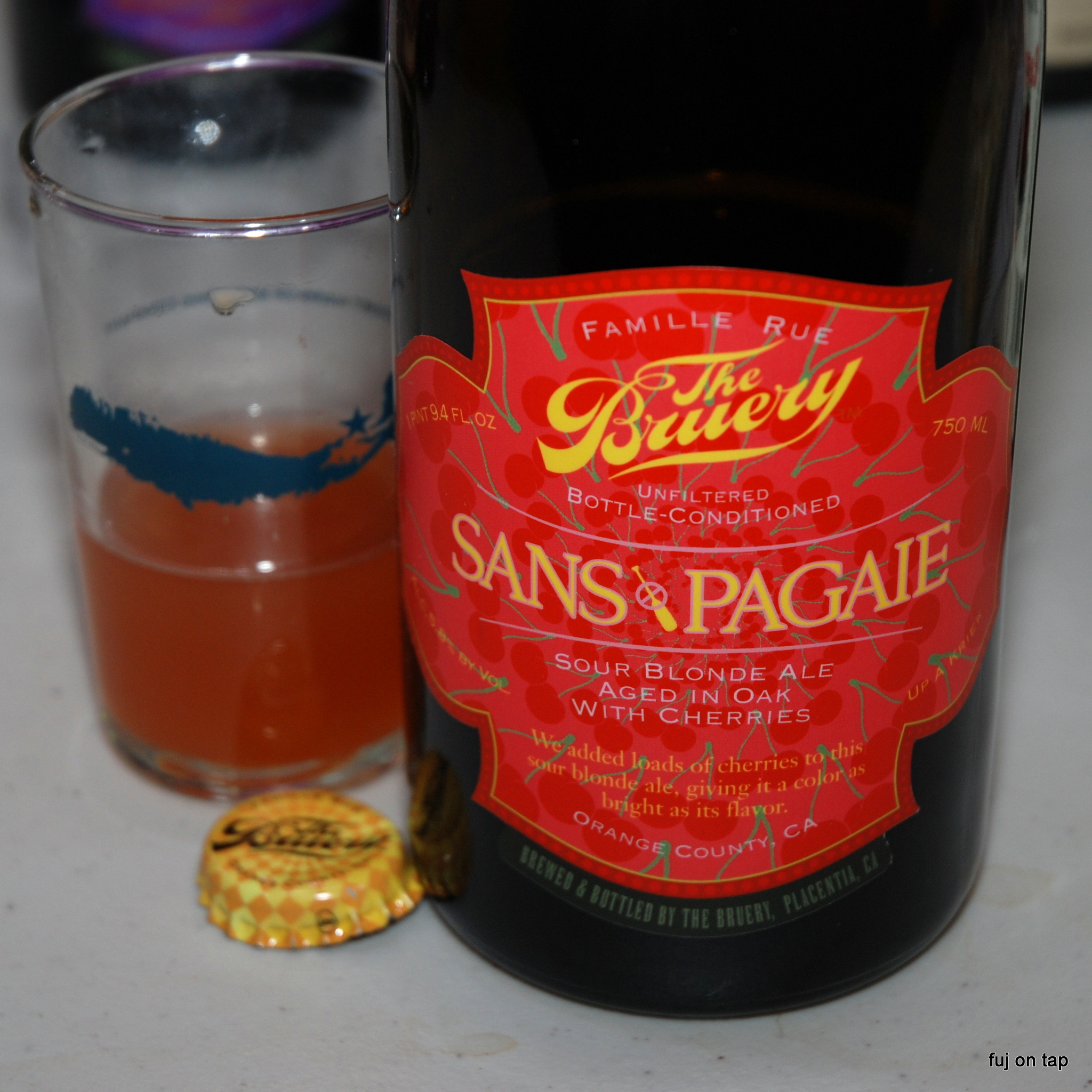 Sans Pagaie by The Bruery
