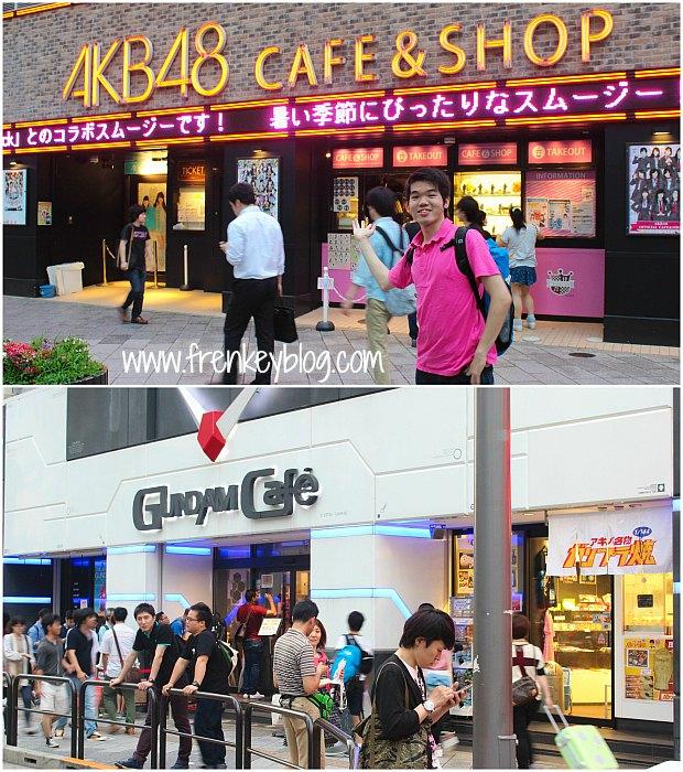 AKB48 dan Gundam Cafe di Akihabara