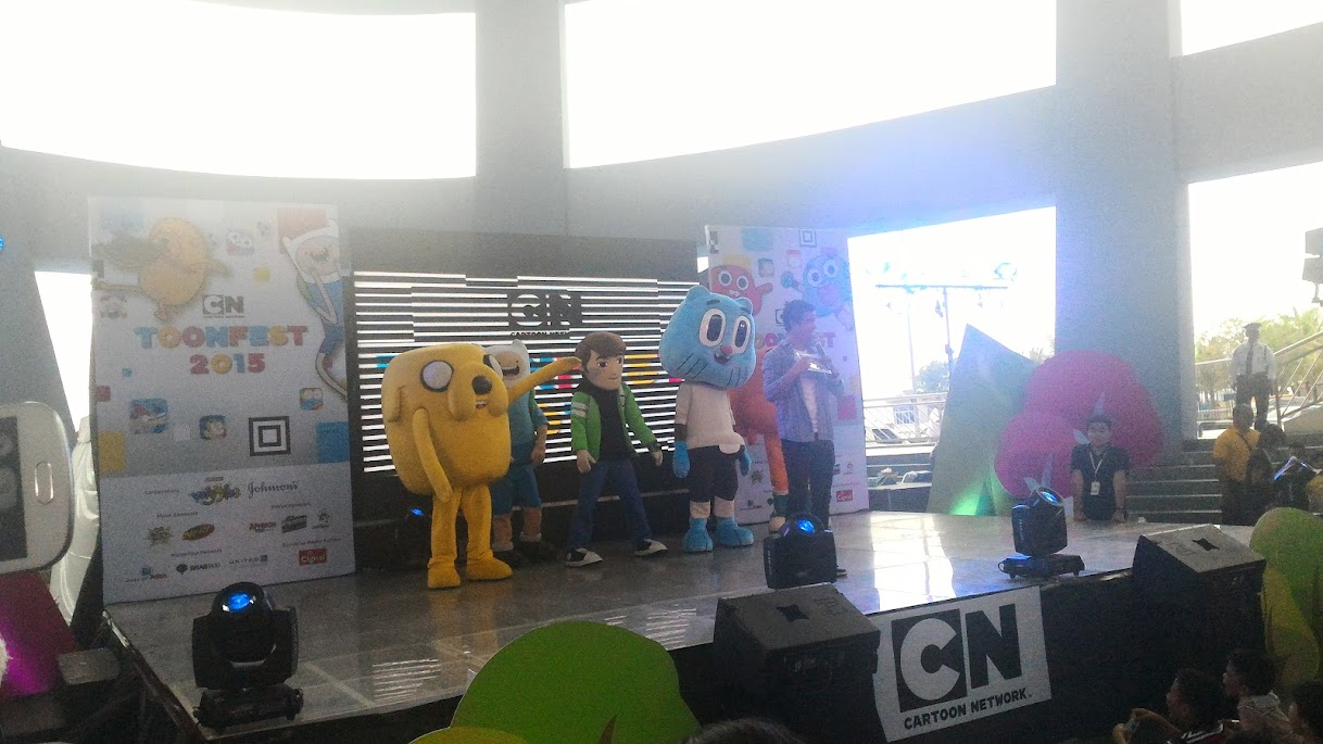 CARTOON NETWORK FEST 2015 AT THE SM MALL OF ASIA.