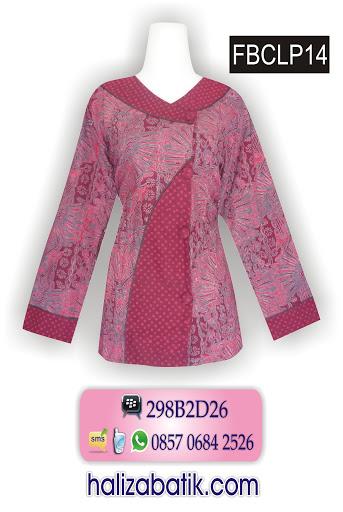 blus batik wanita, jual batik, baju wanita