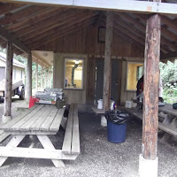 The Scout Cabin....at least for those not camping in tents.