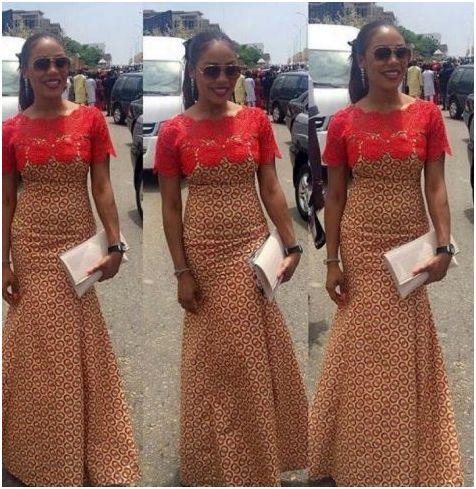 1f8fcfa98 top kitenge lace dress designs 2017 styles - Styles Art