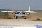 Cessna Grand Caravan ZS-PFL arriving at the fly-in