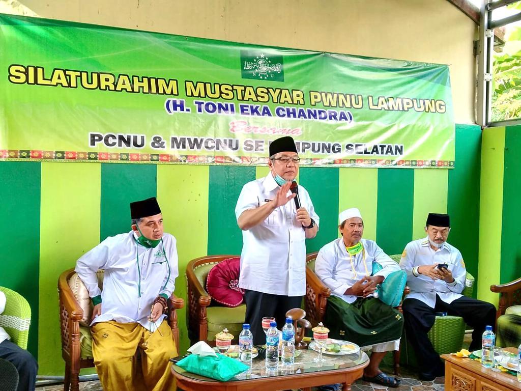 H.Tony Eka Candra Silaturahmi Dengan Para Tokoh NU