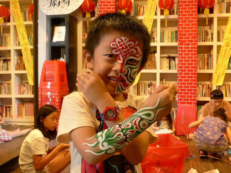 Taipei. Maquillage au Thinker s theater à Di Rua jie 迪化街 - maquillage1%2B067.JPG
