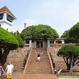 Fort Zeelandia in Taiwan built by the Dutch VOC in the 17th century in Tainan, T'ai-nan, Taiwan