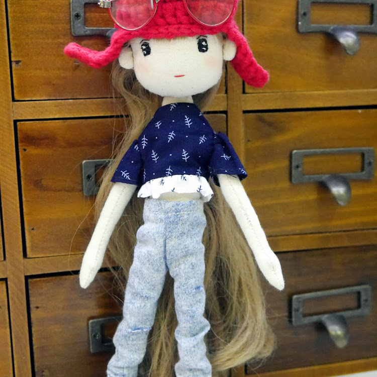 Handmade Doll- Emma by Itcheehand Enterprise