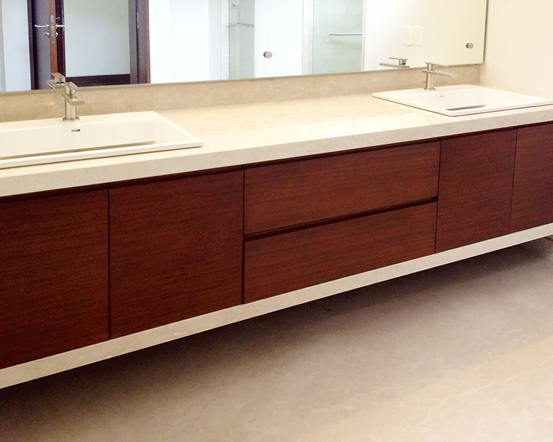 Muebles de ba o muebles para ba o modernos - Muebles de bano dobles ...