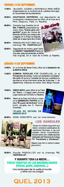 Fiestas Septiembre