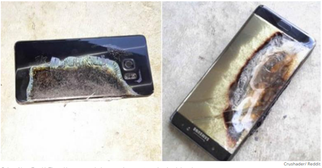 galaxy note 7 terbakar