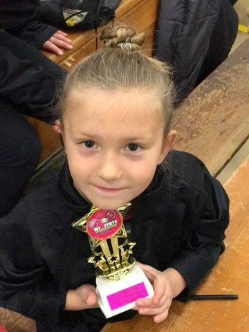 gymnastics pip trophy