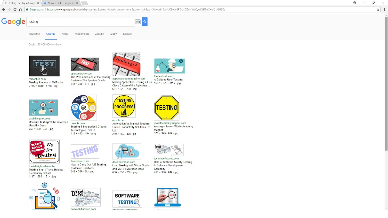 Windows 10 Google Chrome weird layout + search options gone