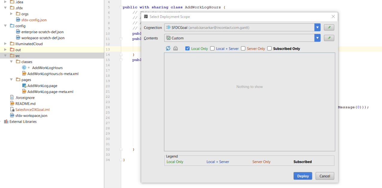 Trying to deploy metadata into our org - Google Groups