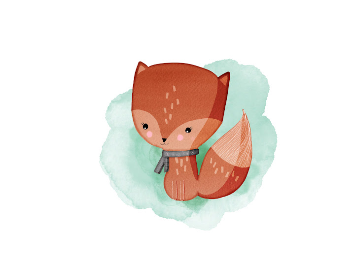 little fox made with Sketches
