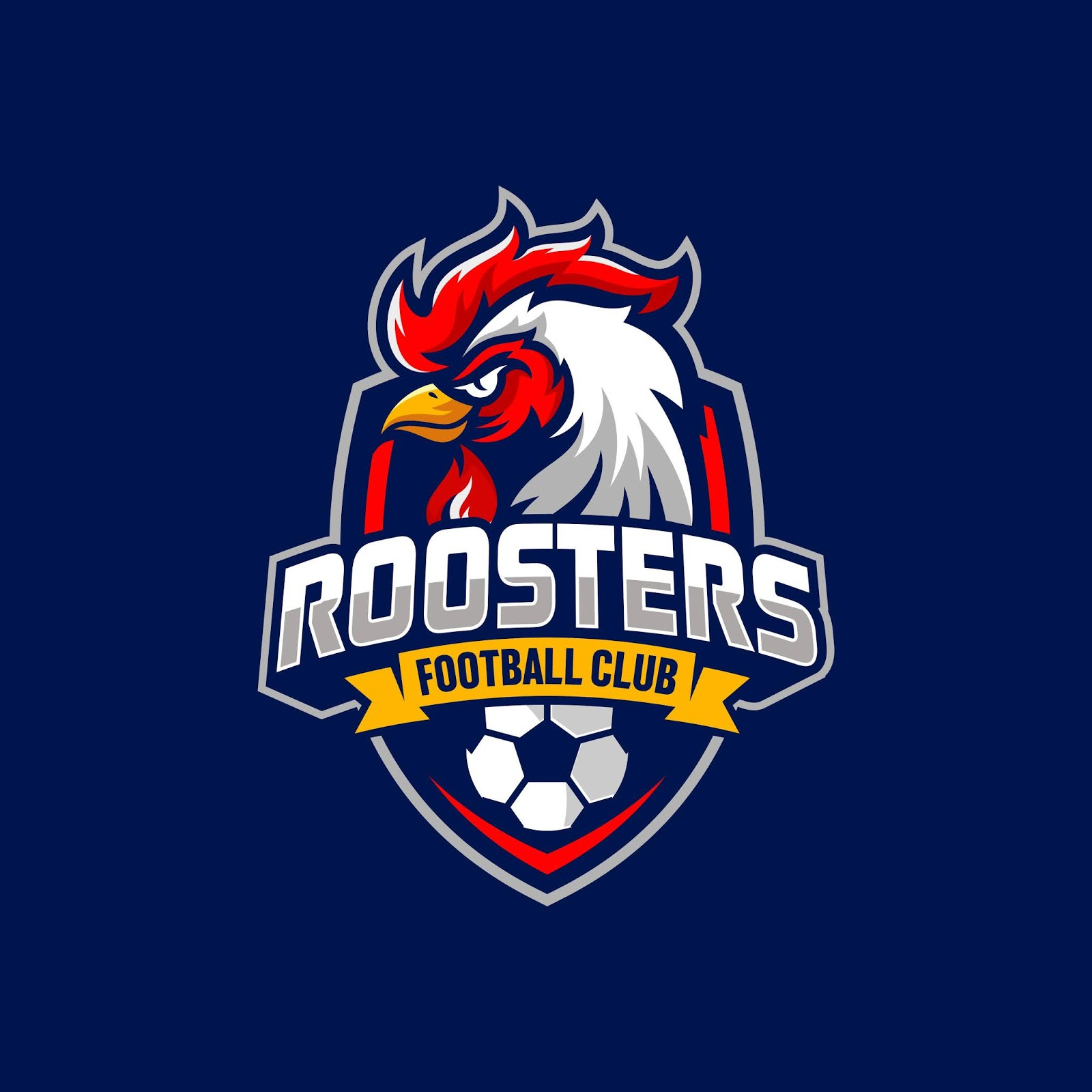 Roosters Football Club Logo Free Download Vector CDR, AI, EPS and PNG Formats
