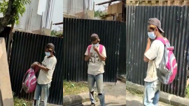 Viral Kuli Bangunan Dipecat Gegara Tak Pakai Masker, Langsung Disuruh Pulang