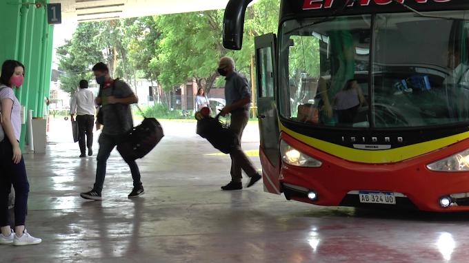 Consultá el último cambio de horario en los servicios de ómnibus interurbanos
