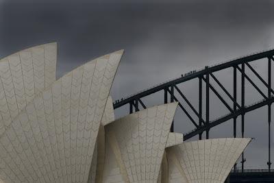 The Opera House and Harbour Bridge - Sydney, Australia