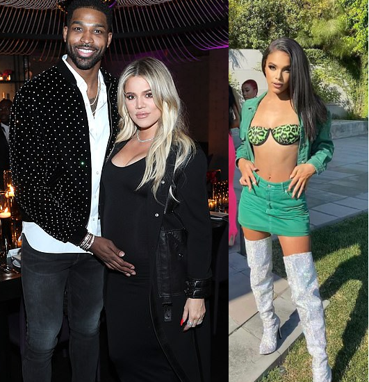 Tristan Thompson's fling Sydney Chase shares messages she 'received' from Khloe Kardashian after she revealed the basketballer hooked up with her