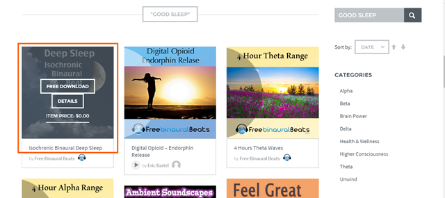 You searched for good sleep   Free Binaural Beats