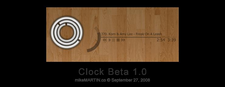 http://mikemartin1200.deviantart.com/art/clock-beta-1-0-99083057