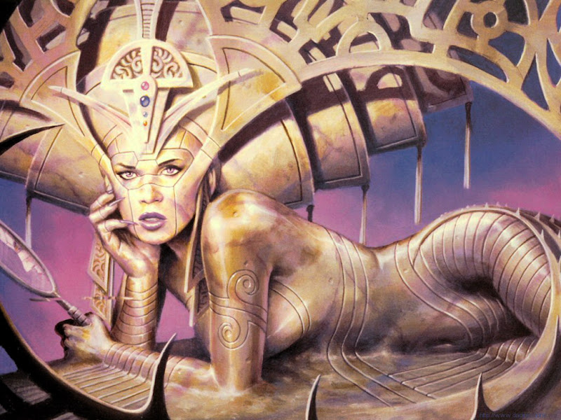 Snake Dragon Beauty, Demonesses