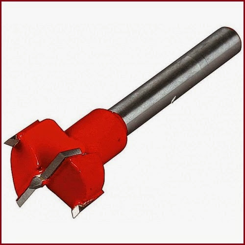 Forstner Drill bit with Carbide cutters