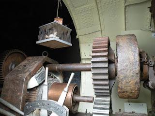 """Госпорт. Музей Подводных Лодок. Подлодка """"Holland 1"""", 1901 года. Двигатель."""