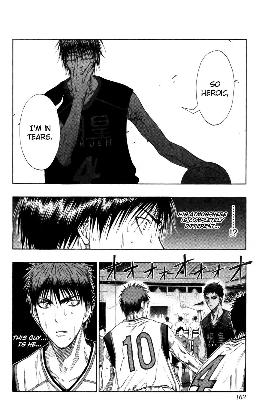 Kuroko no Basket Manga Chapter 125 - Image 18