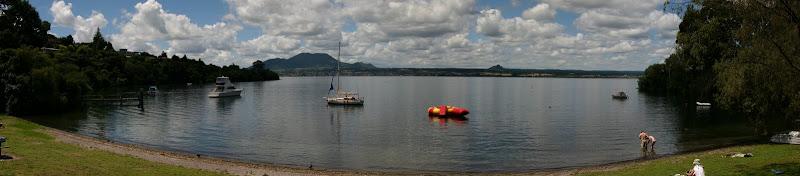 Acacia Bay Beach panorama