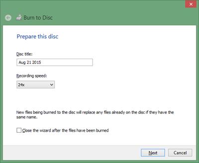 cara memasukan file atau bburning kedalam CD maupun DVD tanpa software