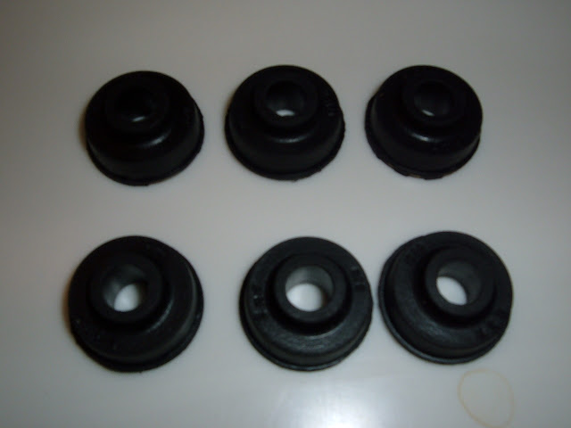 1957-62 Valve cover and valley cover grommets 4.00 each