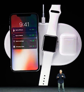 Image result for iphone X wireless charging