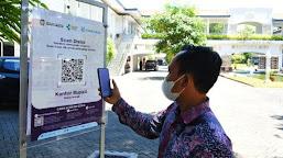 Pemerintah Aceh Berlakukan Barcode 'Peduli Lindungi', Tanpa Vaksinasi tak Bisa Masuk Kantor, Ini Jadwalnya
