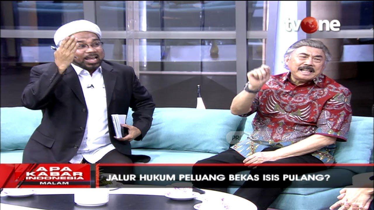 Debat Soal WNI Eks ISIS, Gayus Lumbuun Sebut Ngabalin Bodoh