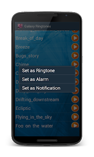 Ringtones Galaxy- screenshot thumbnail