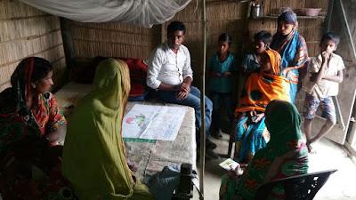 Discussion about Knowledge Fair, No 6 Char, Bongaigaon